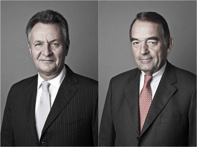 Michael Frenzel & Hans Vieregge (Manager)